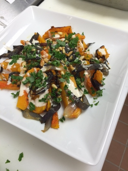Baked Butternut Squash Salad