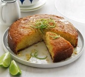 coconut lime syrup cake 3