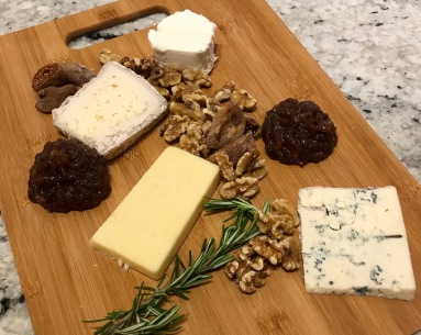 chef dinner cheese platter May 27, 2017