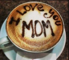 mother's day latte art 3