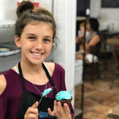 Kennedy Cup Cake Decorating